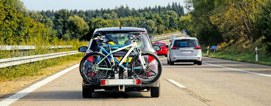 Hur transporterar man bäst en cykel?